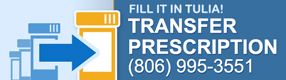 Transfer your prescriptions online here.